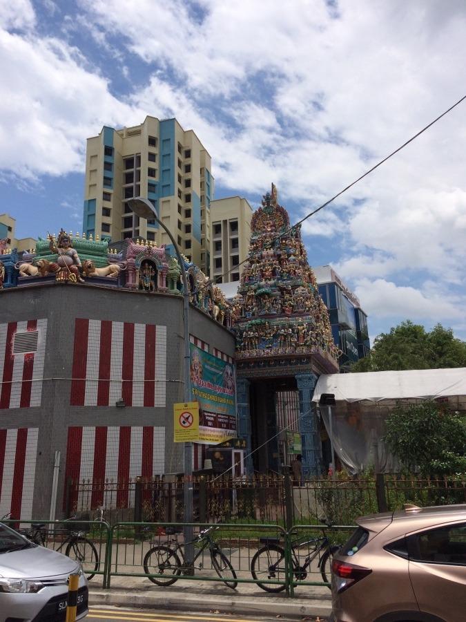 シンガポールスリマリアマン寺院