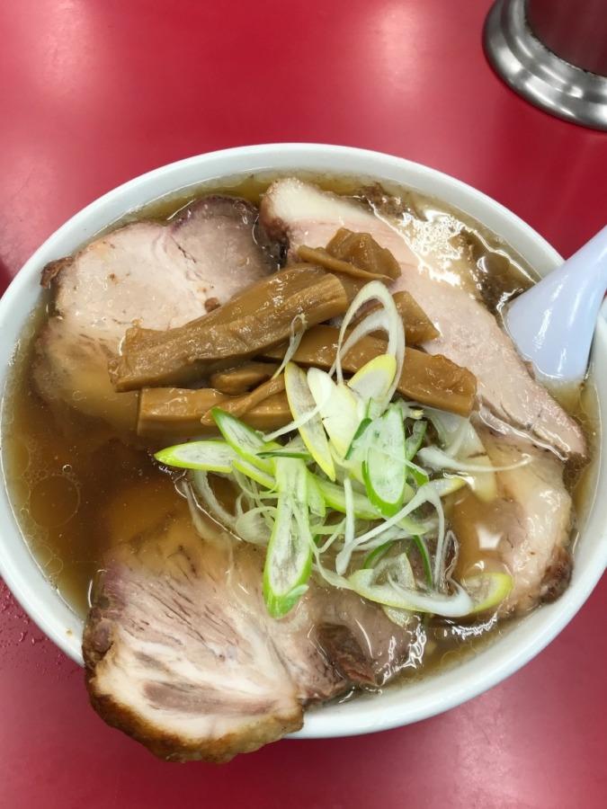 小山市一品香のチャーシュー麺